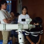 구엄초등학교, '찾아가는 천체관측교실' 운영