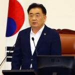"""김태석 의장 """"국제관함식 반대결의안 상정보류, 사과"""""""