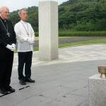 """주한 교황대사 4·3평화공원 방문...""""4·3희생자와 유족위해 기도"""""""