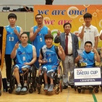 제주휠체어농구단, 대구컵 국제대회 6연패 '금자탑'