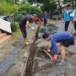 성산읍 오조리 청년회, 배수로 등 마을환경정비 추진