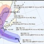 태풍 '솔릭' 예상진로...22일 밤 제주도→ 23일 내륙 관통