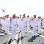 2018 해군 환태평양훈련(RIMPAC)전대, 제주해군기지 입항