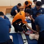 대정119센터, 대정경찰파출소 응급처치교육