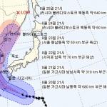태풍 '솔릭', 제주→서울 '수직 관통'...예상 진로는?