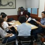 용담2동, 주민세 징수 대책회의 개최