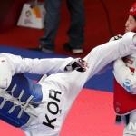 [아시안게임] 이다빈, 여자 태권도 67kg 초과급 정상…2회 연속 '금'