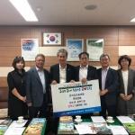 연동-한국자유총연맹 연동분회, '청소년 꿈♡드림 장학금' 전달