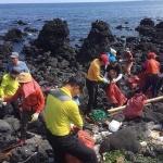 제주바다환경보전협의회, 종달리 해안 정화활동