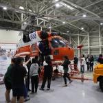 제주여중 학생들, 제주산림항공관리소 방문 '자유학기제' 프로그램