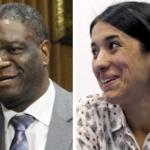 노벨평화상에 드니 무퀘게와 나디아 무라드 … 성폭력 맞선 의사·여성운동가