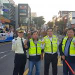 서귀포자치경찰주민봉사대, 칠십리축제 거리 퍼레이드 교통안전 봉사