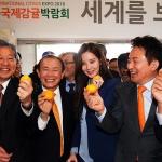 """2018 제주국제감귤박람회 개막...""""겨울철 대표과일 맛보세요"""""""