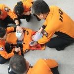외도119센터, 신규 및 펌뷸런스 대원 전문응급처치 훈련 실시