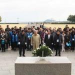 세계 유네스코 회원 400여명, 4.3평화공원 참배
