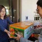 화북동, 어려운 저소득 가구에 '사랑의 김장김치' 전달