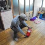 우도119지역센터 남여의용소방대 , 취약계층 주택안전점검