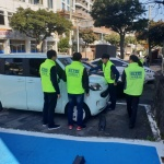 송산동, 주차문화인식개선 위한 합동 캠페인 실시