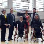 강성범-김애영씨, 장애인댄스스포츠 국가대표선발전 1위