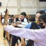 전지훈련차 성산포 찾은 현대그룹 양궁선수단, 재능기부도 펼쳐