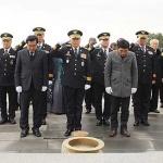 제주경찰청 간부 전원, 4.3평화공원 첫 공식 신년참배