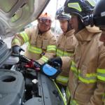 효돈119센터, 겨울철 차량 방전 안전조치 교육 실시