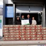 ㈜삼화석유, 용담2동주민센터에 후원 물품 기부