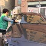 중문동, 오일장에서 교통안전캠페인 실시