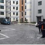오라119센터, 공동주택 소방차 전용구역 설치 홍보