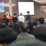 동남장로교회, 중.고등학교 졸업생에 장학금 전달