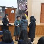 안덕면새마을부녀회 안덕중학교에 장학금 기탁