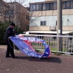 연동주민센터,  관내 불법 유동광고물 정비