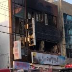 제주, 사라봉오거리 인근 상가주택 가스폭발 화재