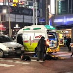 제주, 횡단보도 건너던 보행자 2명 차에 치여 부상