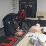 서홍동지역사회보장협의체 심폐소생술 교육 실시