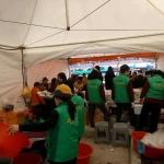 용담2동, 2019 제주 들불축제 참여자 급식 제공