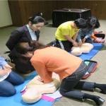 중문119센터, 여성의용소방대 심폐소생술 교육