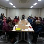 화북동주민센터, 노인일자리사업 참여자 안전교육 실시
