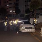 화북119센터, 소방차 길터주기 및 긴급자동차 양보 캠페인