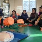 구좌119센터, 한동어촌계 해녀대상 안전교육 실시