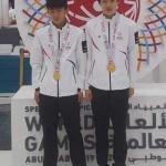 아부다비 스페셜올림픽 배구대표팀 금메달...제주 오범근.양성준 활약
