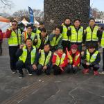 서귀포자치경찰주민봉사대, 유채꽃걷기대회 주차장 안내도우미 활동