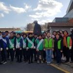 봉개동, 개학기 봉개초등학교 주변 기초질서지키기 캠페인