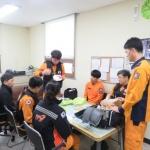 효돈119센터, 펌뷸런스 대원 응급처치교육 실시
