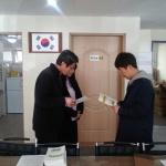 서홍동주민센터, 50세대 이상 아파트 탄소포인트제 가입홍보