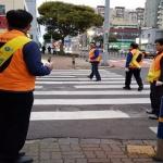 삼도1동통장협의회, 기초질서지키기 캠페인 전개