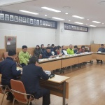 화북119센터, 삼양동 통장 안전하이파이브 교육실시