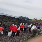 대륜동 법환어촌계, 도민체전대비 해안가 환경 정화 활동