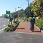 영천동새마을지도자, 주요도로변 풀베기 작업 실시