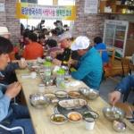 용담2동 '용담생국수', 사랑나눔 행복밥상 무료급식 행사